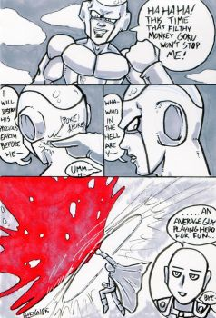 Frieza Never Met Earthlings Like THIS by Barrin84