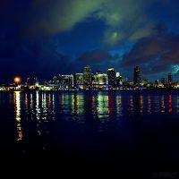 downtown miami. by simoendli