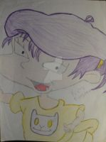 Rugrats Kimi Finster drawn when I was 12  by artdemaurialashawn21
