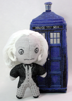 The First Doctor Cross Stitch Doll by rhaben