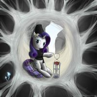 Rarity. Net widow by rule1of1coldfire