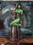 Emerald Lady by Blackbolt64