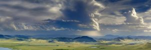Storm over lake Itkul by box426