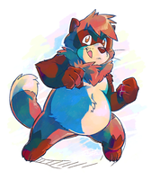 Tanuki Time by super-tuler