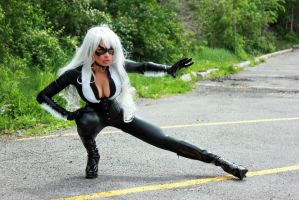 Felicia Hardy/The Black Cat cosplay by Naomi-VonKreeps
