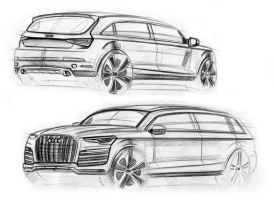 Q7 sketches by MentosDesign