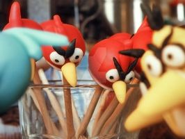 Angry birds - Lolly pops by sleepysud