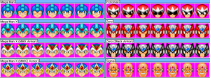 Mega Man Sprite Package by Kryptid