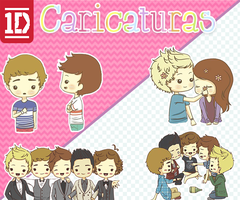 Caricaturas de One Direction by IloveCute1220