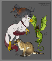 Adoptables - The Experiments - Name your price by Mikaley