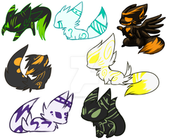 .:Custom Nicrons-Set 2:. by FlamesVoices