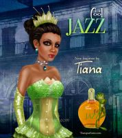 Princess Tiana the Supermodel by kharis-art