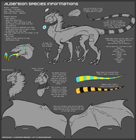 Vestaleon - Aldereion Species Sheet by Shenrai
