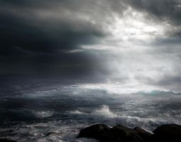STORM AT SEA BG STOCK IV by ArwenArts