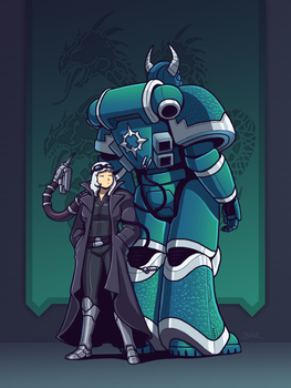 Shadow of the Imperium: Outisa and A by Blazbaros