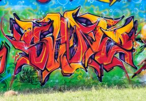 SANZ one -7 sb graffiti fest by SANS-01-2-MHC-BS