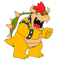 Bowser Vector by pikmin789