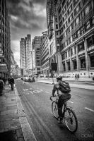 Cycling in London by sican