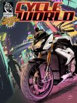 CycleWorld cover art by akira337