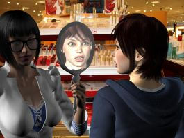 Scene from Missadventures at the Mall by areg5