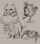 don't starve sketches by ivygreane