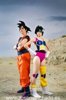 Goku and Seripa by Nebulaluben