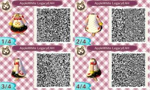 ACNL - Apple White Legacy Day - QR Code by KaitlechVonDraconius