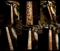 Decorated Mammen Axe by Lirhluthvik