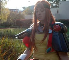 Lina in Contemplation by Angel-Platypus-Photo