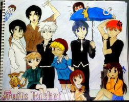 Fruits Basket Group Picture by HoldYourBreathXD