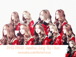 [PNG PACK] #1 Jessica Jung By : Sun by Suncucheoo