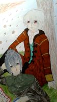 Nezumi + Shion - under the cherry blossom tree by Kurohimex105