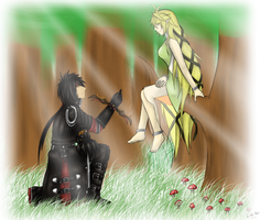 Elsword: The Willow Maid (Raven and Rena) by GaleSpider