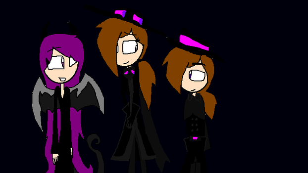 The Ender Family by WolfyTheKitsune