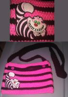 Pink And Black Cheshire Bag *SOLD* by Whyte-Raven