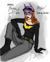 Rockabilly Batgirl by LinaPrime