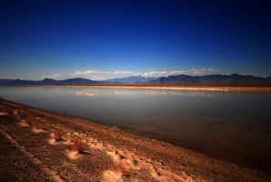Crossing Country Salt Flats by myrnajacobs
