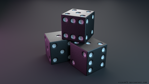 Dice by VickyM72