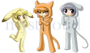 Fruits basket Pajamas by mystcloud