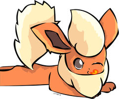 Flareon by clyvore