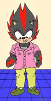 Shadow's pink shirt by RyanEchidnaSEAL