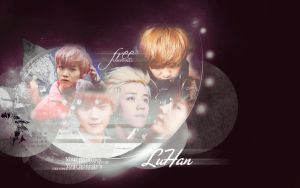 Luhan-wallpaper by KpopGurl