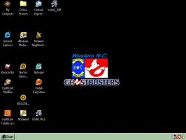 WNC-Ghostbusters desktop by LonelyImmortal
