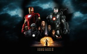 Iron Man 2 Poster Wall Mix 2 by rehsup