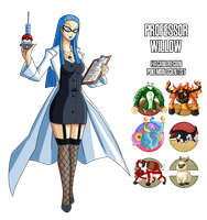 Fakemon: Professor Willow by MTC-Studios