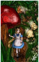 Alice In Wonderland by Lethevert
