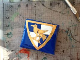 Duct Tape Ravenclaw wallet by Brutechieftan