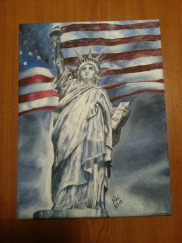 Statue of liberty by Mrs-Industrial