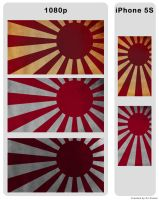 Rising Sun wallpaper pack for 1080p and iPhone 5S by DJ-Zemar