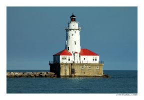 Lake Michigan Lighthouse by fromantis